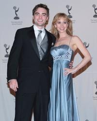Drew Tyler Bell and Ashley Jones at the 35th International Emmy Awards Gala.