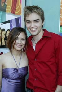 Eileen Boylan and Drew Tyler Bell at the premiere of