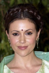 Alyssa Milano at the gala screening of