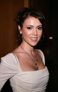 Alyssa Milano at the Los Angeles premiere of