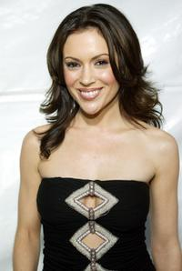 Alyssa Milano at the premiere of