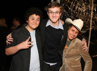 Troy Gentile, Nate Hartley and David Dorfman at the California premiere of