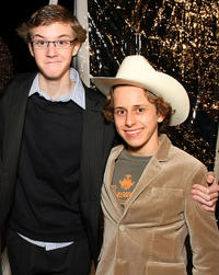 Nate Hartley and David Dorfman at the California premiere of