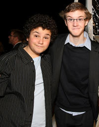 Troy Gentile and Nate Hartley at the California premiere of