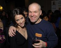 Jackie Tohn and Director Uwe Boll at the 2007 Hollywood Film Festival.