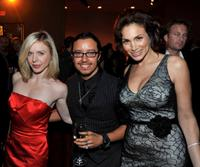 Shirly Brener, Efren Ramirez and Patricia De Leon at the after party of the premiere of