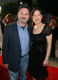 Andy Milder and Betty at the premiere of