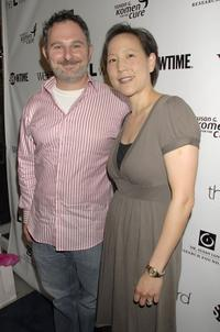 Andy Milder and Betty Milder at the premiere of