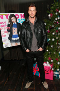 Tilky Jones at the celebration of NYLON's December/January Cover Star Lucy Hale in California.