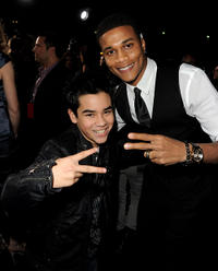 Bryce Cass and Cory Hardrict at the California premiere of
