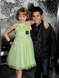 Joey King and Bryce Cass at the California premiere of