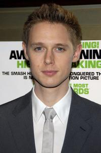 Samuel Barnett at the screening of