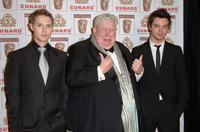Samuel Barnett, Richard Griffiths and Dominic Cooper at the 15th Annual British Academy of Film and Television Arts Los Angeles Britannia Awards in California.