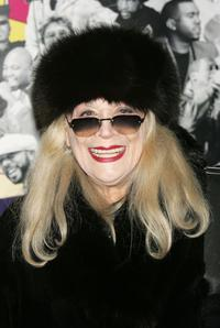 Sylvia Miles at the New York premiere of