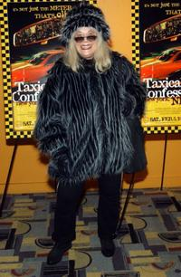 Sylvia Miles at the screening of