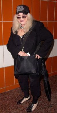 Sylvia Miles at the 53rd Annual Drama Desk Awards.