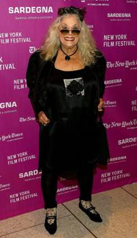 Sylvia Miles at the New York Film Festival premiere of