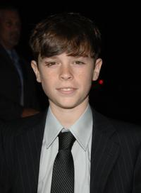 Eddie Alderson at the premiere of