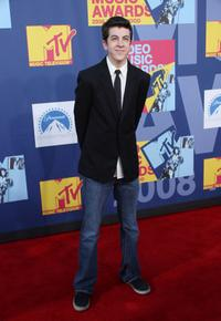 Christopher Mintz-Plasse at the 2008 MTV Video Music Awards.