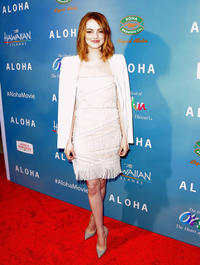 Emma Stone at the California special screening of