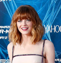 Emma Stone at the New York premiere of