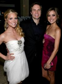 Brittany Snow, Scott Porter and Jessica Stroup at the world premiere of