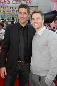 Matthew Fox and Scott Porter at the premiere of