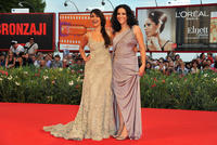 Yasmine Al Masri and Ruba Blal at the premiere of