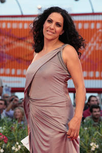 Ruba Blal at the premiere of