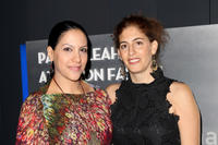 Ruba Blal and Filmmaker Annemarie Jacir at the premiere of