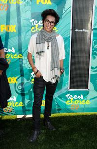 Justin Chon at the 2009 Teen Choice Awards.