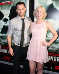 Jonathan Sadowski and Ingrid Bolso Berdal at the California premiere of