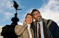 Jenny Agutter and John Landis at the 21st anniversary and re-release of the film An American Werewolf In London.