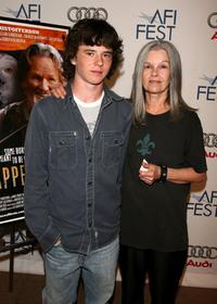 Charlie McDermott and Genevieve Bujold at the screening of