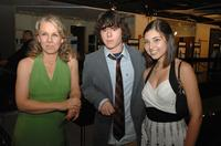 Courtney Hunt, Charlie McDermott and Shelby Young at the after party of the premiere of