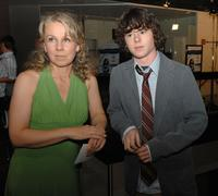 Courtney Hunt and Charlie McDermott at the after party of the premiere of