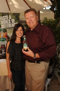 Joel McKinnon Miller and Guest at the DPA pre-Emmy Gift Lounge.