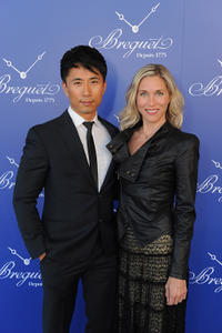 James Kyson Lee and Guest at the Breguet Celebrates Sponsorship of