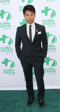 James Kyson Lee at the Global Green USA's 15th Annual Millennium Awards in California.