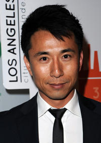 James Kyson Lee at the Global Green USA's 8th annual pre-Oscar party