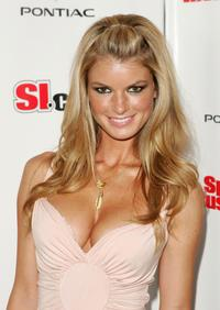Marisa Miller at the Sports Illustrated 2005 Swimsuit Issue Event.