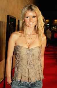 Marisa Miller at the after party of the premiere of