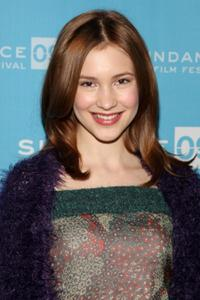 Alexia Fast at the screening of