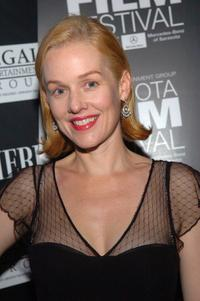 Penelope Ann Miller at the Sarasota Film Festival.