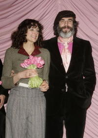 Rebecca Miller and Daniel Day-Lewis at the premiere of