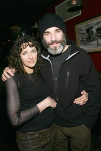 Rebecca Miller and Daniel Day-Lewis at the IFC party during the 2005 Sundance Film Festival.