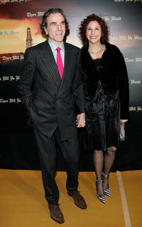 Daniel Day-Lewis and Rebecca Miller at the premiere of