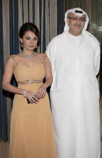 Minissha Lamba and Masoud Amralla Al Ali at the premiere of