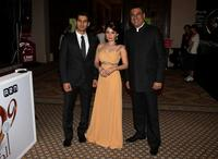 Sammir Dattani, Minissha Lamba and Boman Irani at the premiere of
