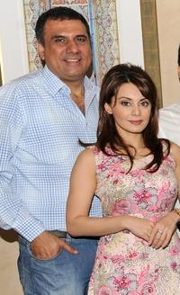 Boman Irani and Minissha Lamba at the 6th Annual Dubai International Film Festival.